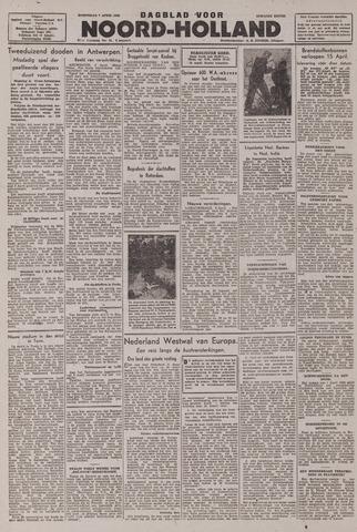 Dagblad Noord-Holland, Schager editie 1943-04-07