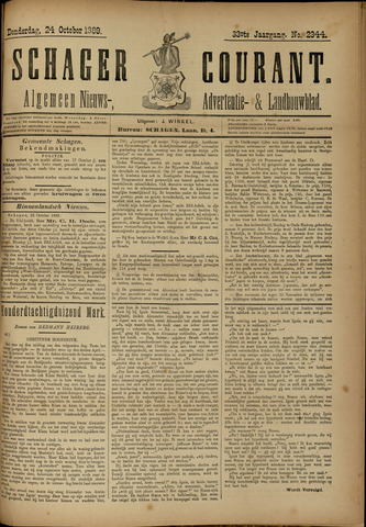 Schager Courant 1889-10-24