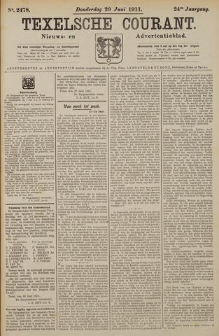 Texelsche Courant 1911-06-29