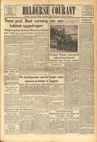 Heldersche Courant 1952-07-24
