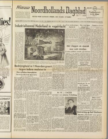 Nieuw Noordhollandsch Dagblad : voor Alkmaar en omgeving 1950-10-16