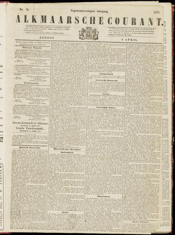 Alkmaarsche Courant 1877-04-08