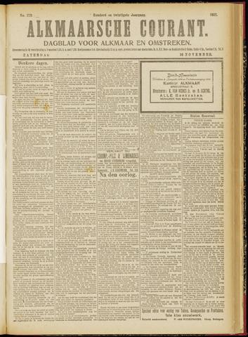 Alkmaarsche Courant 1918-11-16