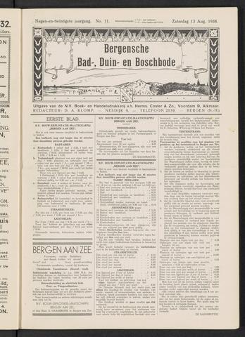Bergensche bad-, duin- en boschbode 1938-08-13