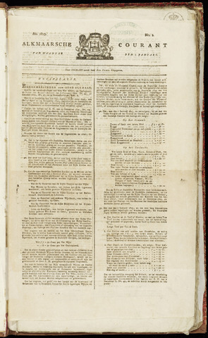Alkmaarsche Courant 1823-01-06