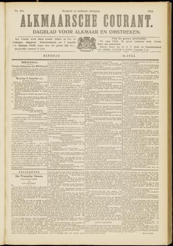Alkmaarsche Courant 1914-07-14