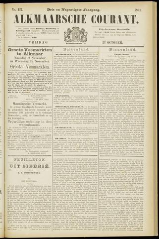 Alkmaarsche Courant 1891-10-23