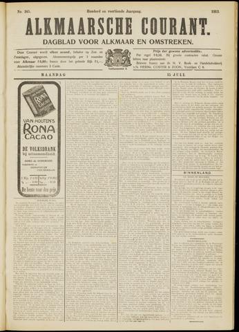 Alkmaarsche Courant 1912-07-15