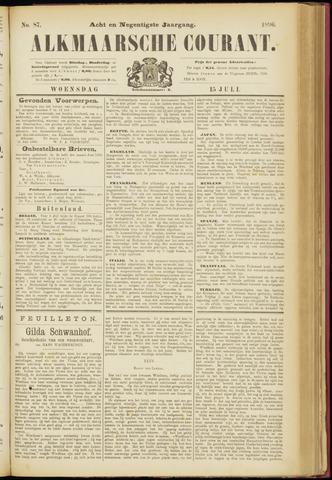 Alkmaarsche Courant 1896-07-15
