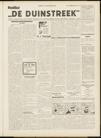 De Duinstreek 1963-09-20