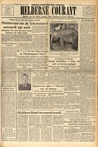 Heldersche Courant 1952-09-09