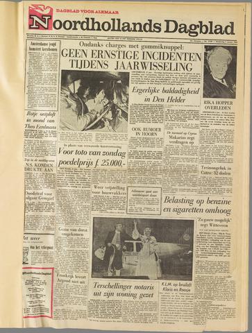 Noordhollands Dagblad : dagblad voor Alkmaar en omgeving 1964-01-02