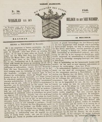 Weekblad van Den Helder en het Nieuwediep 1846-12-14