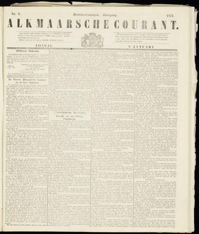 Alkmaarsche Courant 1871-01-08