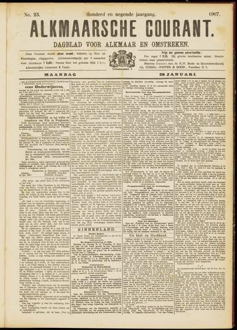 Alkmaarsche Courant 1907-01-28