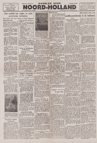 Dagblad Noord-Holland, Schager editie 1943-03-30