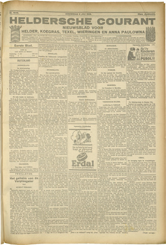 Heldersche Courant 1925-07-02