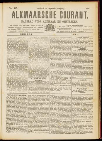 Alkmaarsche Courant 1907-05-07