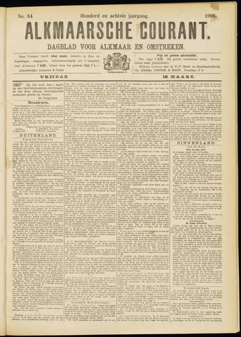 Alkmaarsche Courant 1906-03-16