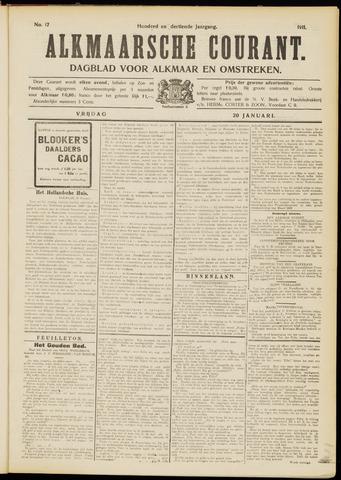 Alkmaarsche Courant 1911-01-20
