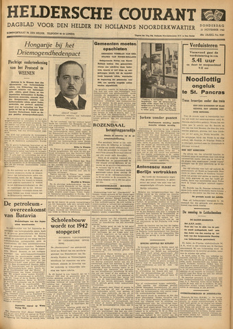 Heldersche Courant 1940-11-21