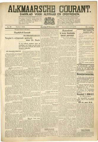 Alkmaarsche Courant 1933-12-18