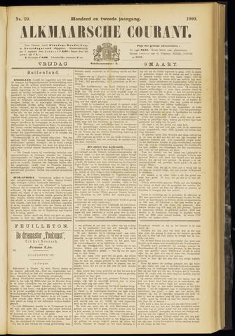 Alkmaarsche Courant 1900-03-09