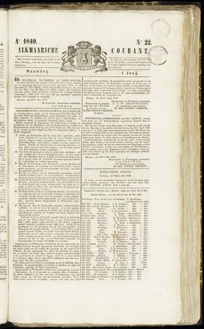 Alkmaarsche Courant 1840-06-01