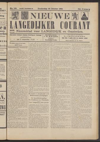 Nieuwe Langedijker Courant 1925-10-22