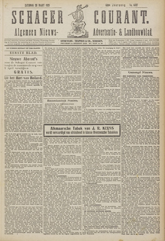 Schager Courant 1920-03-20