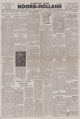 Dagblad Noord-Holland, Schager editie 1943-05-28