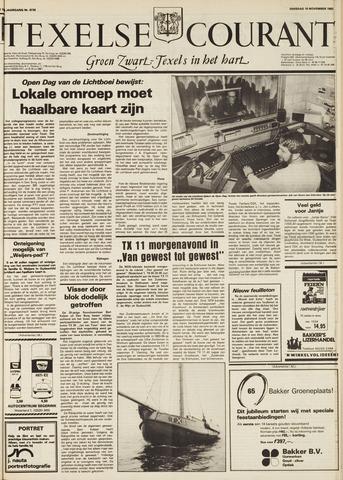 Texelsche Courant 1982-11-16