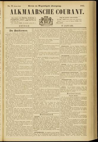 Alkmaarsche Courant 1895-01-27