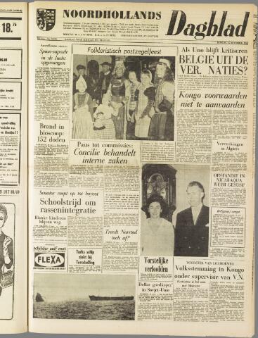 Noordhollands Dagblad : dagblad voor Alkmaar en omgeving 1960-11-15