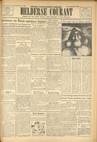 Heldersche Courant 1949-11-12