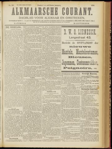 Alkmaarsche Courant 1916-09-30