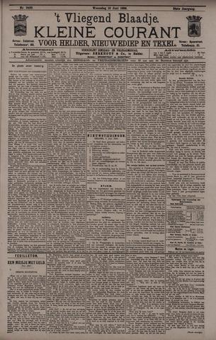 Vliegend blaadje : nieuws- en advertentiebode voor Den Helder 1896-06-10