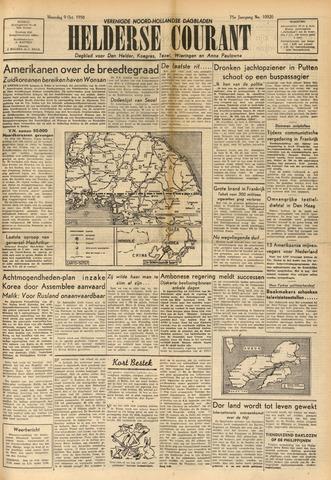 Heldersche Courant 1950-10-09
