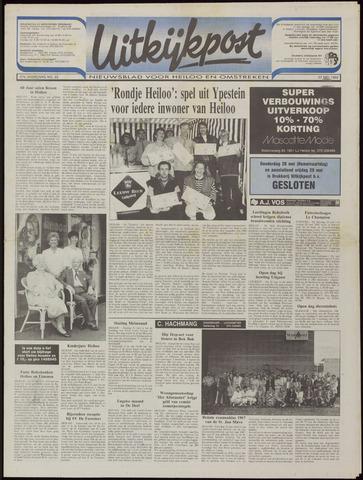Uitkijkpost : nieuwsblad voor Heiloo e.o. 1992-05-27