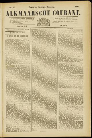 Alkmaarsche Courant 1887-07-31