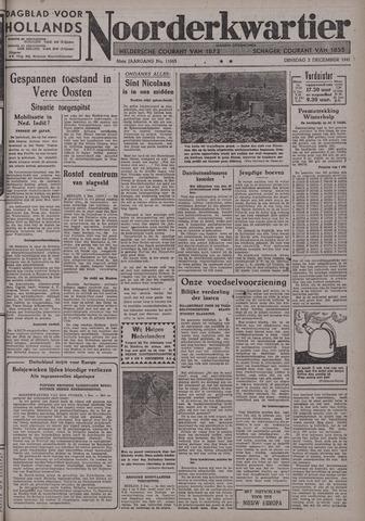 Dagblad voor Hollands Noorderkwartier 1941-12-02