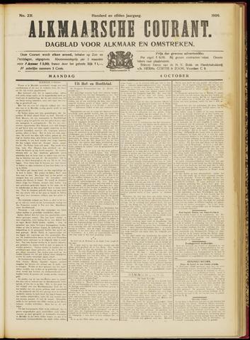 Alkmaarsche Courant 1909-10-04
