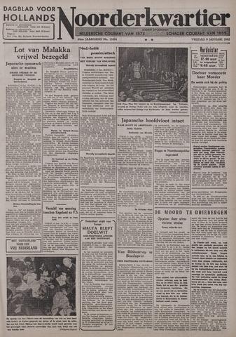 Dagblad voor Hollands Noorderkwartier 1942-01-09