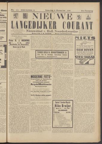 Nieuwe Langedijker Courant 1926-11-06