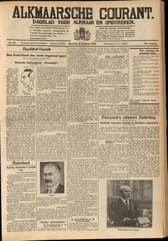 Alkmaarsche Courant 1934-10-16