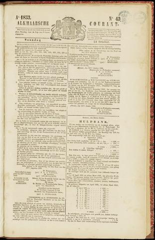 Alkmaarsche Courant 1853-10-24