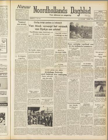 Nieuw Noordhollandsch Dagblad : voor Alkmaar en omgeving 1947-07-17