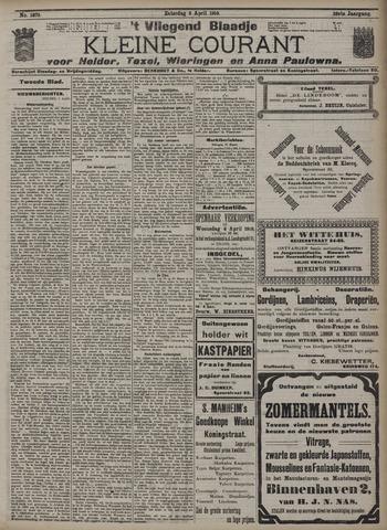 Vliegend blaadje : nieuws- en advertentiebode voor Den Helder 1910-04-02