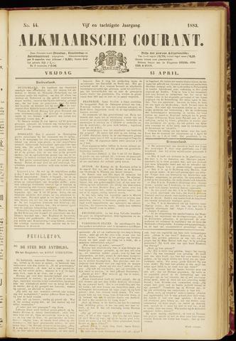 Alkmaarsche Courant 1883-04-13