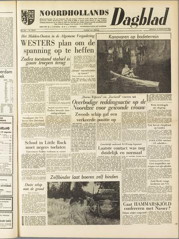 Noordhollands Dagblad : dagblad voor Alkmaar en omgeving 1958-08-19